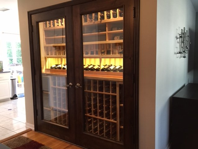 Custom Wine Closet Custom Wine Cellars Washington Dc